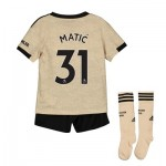 Manchester United Away Mini Kit 2019 - 20 with Matic 31 printing