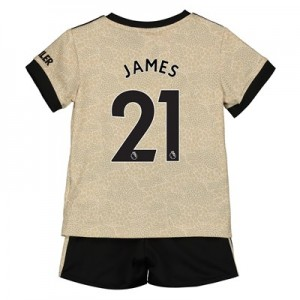Manchester United Away Baby Kit 2019 - 20 with James 21 printing