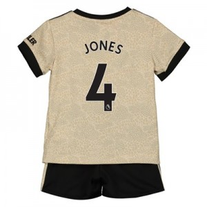 Manchester United Away Baby Kit 2019 - 20 with Jones 4 printing