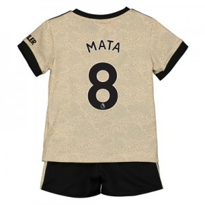 Manchester United Away Baby Kit 2019 - 20 with Mata 8 printing