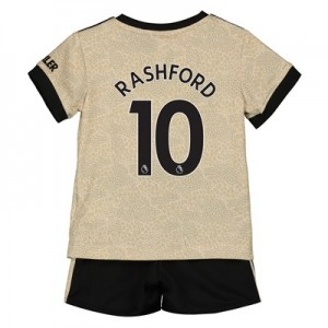 Manchester United Away Baby Kit 2019 - 20 with Rashford 10 printing