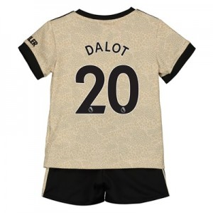 Manchester United Away Baby Kit 2019 - 20 with Dalot 20 printing