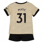Manchester United Away Baby Kit 2019 - 20 with Matic 31 printing