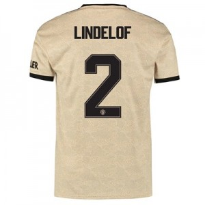 Manchester United Cup Away Shirt 2019 - 20 with Lindelof 2 printing