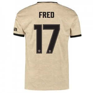 Manchester United Cup Away Shirt 2019 - 20 with Fred 17 printing