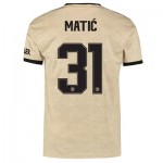 Manchester United Cup Away Shirt 2019 - 20 with Matic 31 printing