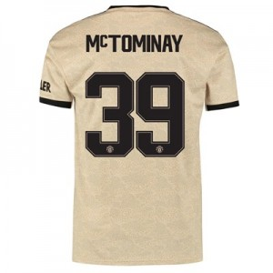 Manchester United Cup Away Shirt 2019 - 20 with McTominay 39 printing
