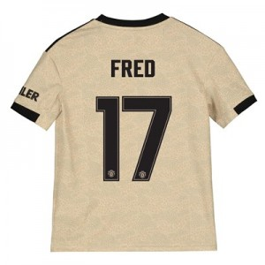 Manchester United Cup Away Shirt 2019 - 20 - Kids with Fred 17 printing