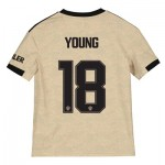 Manchester United Cup Away Shirt 2019 - 20 - Kids with Young 18 printing