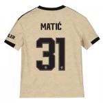 Manchester United Cup Away Shirt 2019 - 20 - Kids with Matic 31 printing