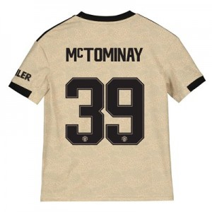 Manchester United Cup Away Shirt 2019 - 20 - Kids with McTominay 39 printing