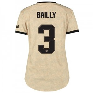 Manchester United Cup Away Shirt 2019 - 20 - Womens with Bailly 3 printing