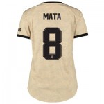 Manchester United Cup Away Shirt 2019 - 20 - Womens with Mata 8 printing