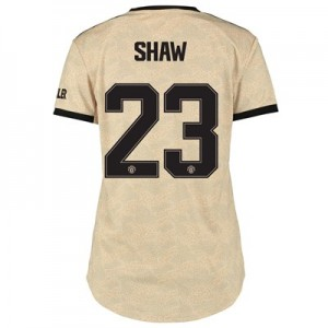 Manchester United Cup Away Shirt 2019 - 20 - Womens with Shaw 23 printing