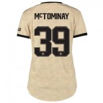 Manchester United Cup Away Shirt 2019 - 20 - Womens with McTominay 39 printing