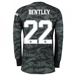 Manchester United Cup Away Goalkeeper Shirt 2019 - 20 with Bentley 22 printing