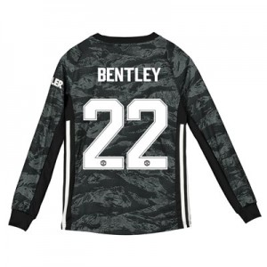 Manchester United Cup Away Goalkeeper Shirt 2019 - 20 - Kids with Bentley 22 printing