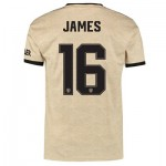 Manchester United Cup Away Shirt 2019 - 20 with James 16 printing