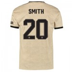 Manchester United Cup Away Shirt 2019 - 20 with Smith 20 printing