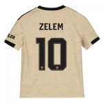 Manchester United Cup Away Shirt 2019 - 20 - Kids with Zelem 10 printing