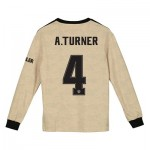 Manchester United Cup Away Shirt 2019 - 20 - Kids - Long Sleeve with A.Turner 4 printing