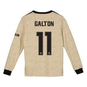 Manchester United Cup Away Shirt 2019 - 20 - Kids - Long Sleeve with Galton 11 printing