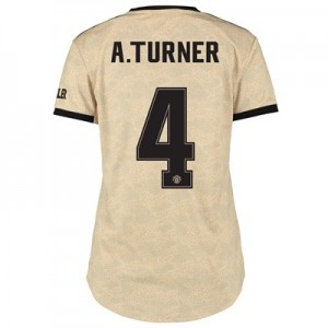 Manchester United Cup Away Shirt 2019 - 20 - Womens with A.Turner 4 printing