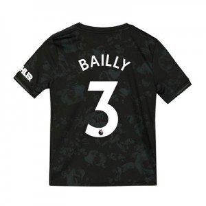 Manchester United Third Shirt 2019 - 20 - Kids with Bailly 3 printing