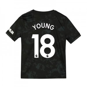 Manchester United Third Shirt 2019 - 20 - Kids with Young 18 printing