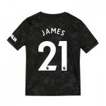 Manchester United Third Shirt 2019 - 20 - Kids with James 21 printing