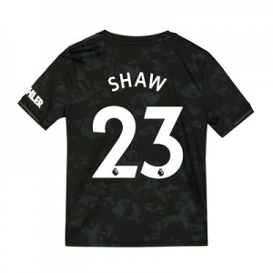 Manchester United Third Shirt 2019 - 20 - Kids with Shaw 23 printing