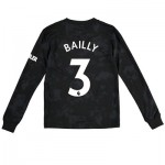 Manchester United Third Shirt 2019 - 20 - Kids - Long Sleeve with Bailly 3 printing