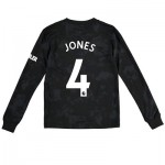 Manchester United Third Shirt 2019 - 20 - Kids - Long Sleeve with Jones 4 printing