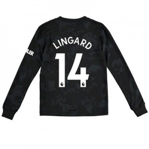 Manchester United Third Shirt 2019 - 20 - Kids - Long Sleeve with Lingard 14 printing
