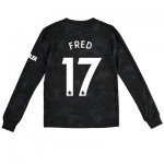 Manchester United Third Shirt 2019 - 20 - Kids - Long Sleeve with Fred 17 printing