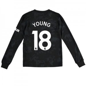 Manchester United Third Shirt 2019 - 20 - Kids - Long Sleeve with Young 18 printing