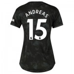 Manchester United Third Shirt 2019 - 20 - Womens with Andreas 15 printing