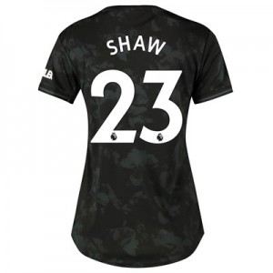 Manchester United Third Shirt 2019 - 20 - Womens with Shaw 23 printing
