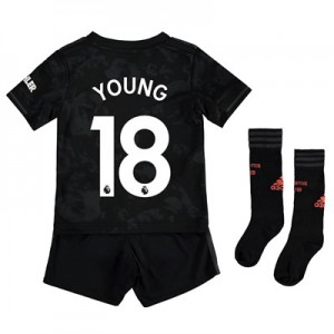 Manchester United Third Mini Kit 2019 - 20 with Young 18 printing