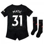 Manchester United Third Mini Kit 2019 - 20 with Matic 31 printing