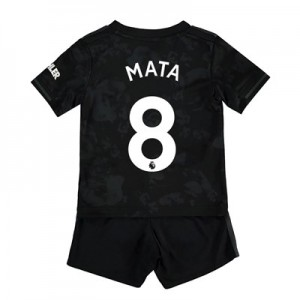 Manchester United Third Baby Kit 2019 - 20 with Mata 8 printing
