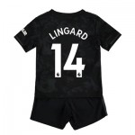 Manchester United Third Baby Kit 2019 - 20 with Lingard 14 printing