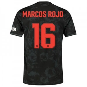 Manchester United Cup Third Shirt 2019 - 20 with Marcos Rojo 16 printing