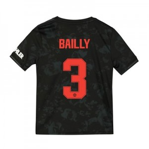 Manchester United Cup Third Shirt 2019 - 20 - Kids with Bailly 3 printing
