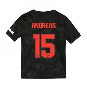 Manchester United Cup Third Shirt 2019 - 20 - Kids with Andreas 15 printing