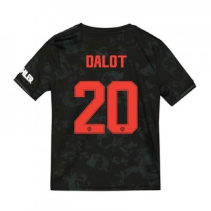 Manchester United Cup Third Shirt 2019 - 20 - Kids with Dalot 20 printing