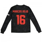 Manchester United Cup Third Shirt 2019 - 20 - Kids - Long Sleeve with Marcos Rojo 16 printing