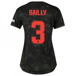 Manchester United Cup Third Shirt 2019 - 20 - Womens with Bailly 3 printing