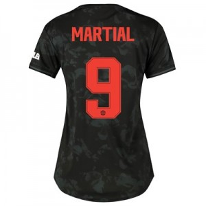 Manchester United Cup Third Shirt 2019 - 20 - Womens with Martial 9 printing