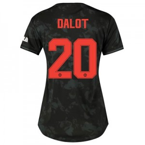 Manchester United Cup Third Shirt 2019 - 20 - Womens with Dalot 20 printing